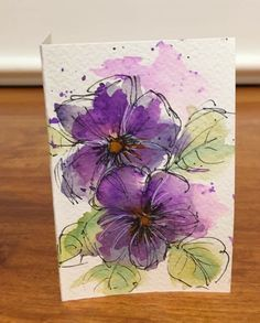 Watercolor Art Lessons, Watercolor Projects, Watercolor Drawing, Watercolor And Ink, Watercolor Illustration, Watercolor Paintings, Watercolours, Watercolor Flowers Tutorial, Alcohol Ink Painting