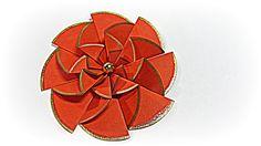 Flores de papel fáciles. Paper flowers easy. (+lista de reproducción)