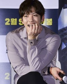 "Ji Chang Wook at Showcase for movie ""Fabricated City"" . Fabricated City, Empress Ki, Mr Right, Love Me Forever, Drama Film, Ji Chang Wook, Korean Actors, Sehun, Korean Drama"