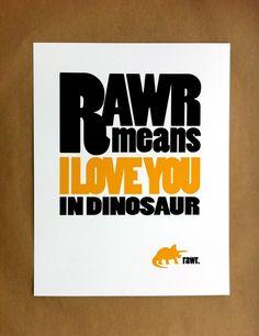 Rawr :) hehe