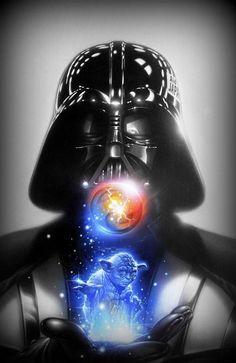 Todos temos um lado negro da força.