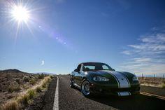 Revlimiter's Bucky! Enkei RPF1 Wheels >>> http://www.topmiata.com/shop/enkei-rpf1-15/ | #TopMiata #mazda #miata #mx5 #eunos #roadster #revlimiter #enkei #rpf1