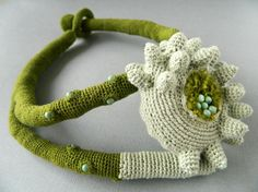 Crochet Necklace - visit site to see more beautiful designs