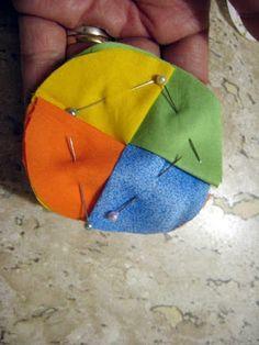 ARTEMELZA -  Arte e Artesanato: Fuxico trançado 4 cores - passo a passo | Fabric b...