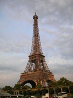 Eiffle Tower; Paris, France