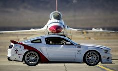 ❦ U.S. Air Force Thunderbirds Edition 2014 Ford Mustang GT