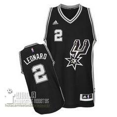 Camisetas Nba Baratas 2014 De Navidad Swingman Leonard #2 Negro San Antonio Spurs  €21.9