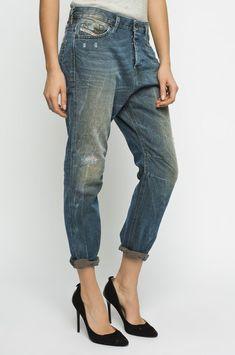 453fbeb9 NEW DIESEL EAZEE 0837H low waist Boyfriend leg JEAN ladies W28 34L size uk  10 12