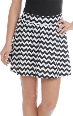 #Deb Shops                #Skirt                    #zigzag #stripe #skater #skirt #1000047729 #debshops.com                      zigzag stripe skater skirt - 1000047729 - debshops.com                                                  http://www.seapai.com/product.aspx?PID=1870185