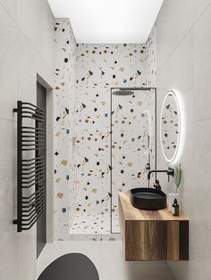 Small Bathroom Paint, Bathroom Design Small, Modern Bathroom, Bathroom Design Luxury, Bath Design, Bathroom Design Inspiration, Toilet Design, Bath Remodel, Terrazzo