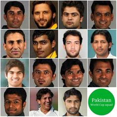 Pakistan's 15 Players Squad for World Cup 2015 http://worldcup2015updates.blogspot.com/2015/01/pakistans-15-players-squad-for-world.html