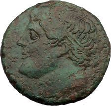 Syracuse in Sicily 240BC King Hieron II Horseman Large Ancient Greek Coin i36687