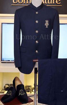 Prince Coat Uomo Attire is part of Wedding dress men - Indian Men Fashion, Mens Fashion Suits, Mens Suits, Wedding Dresses Men Indian, Wedding Dress Men, Wedding Outfits, Blazer Outfits Men, Stylish Mens Outfits, Dress Suits For Men