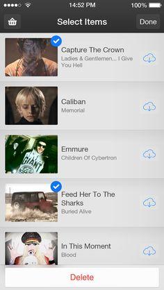 iOS7 Videos - Music Videos