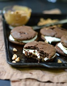Blahnik Baker • Peanut Butter Chocolate Chip Cookie S'mores