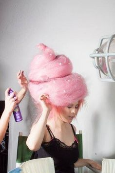 Cotton candy hair! The good kind! :)