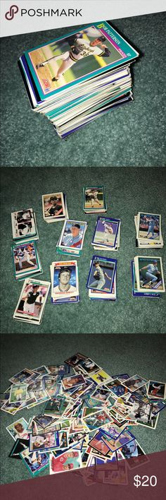 162 Vintage Baseball Cards 162 not packaged great condition vintage baseball cards! Their might be some rare and valuable cards in here so if you buy it you might find out that it is worth so much more!! Collectibles Other