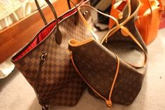 Louis Vuitton Neverfull Handbags - 227.99$ #Louis #Vuitton #Neverfull #Handbags