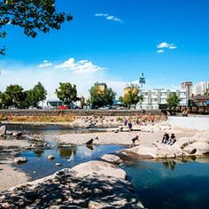Reno River Walk & Arts District
