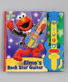 Elmo's Rock Star Guitar Board Book Set