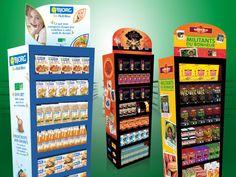 Mobilier merchandising DISTRIBORG france PLV POS bjorg / alter eco / cuisines du monde / schär