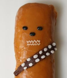 Celebrate National Doughnut Day with this Chewbacca treat!