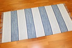 Rag rugs from Stjerna of Sweden - Julia (blue)