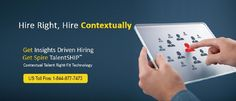 Recruiters can get right fit #candidates only with #contextual #technology which uses human-like #intelligence to search and match the most relevant candidates. This helps reduce time-to-hire, increase interview-to-hire ratio, save time and costs. Learn now