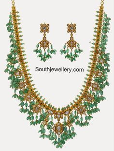 emeralds gotta pusalu necklace