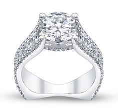 Capri Jewelers Arizona ~ www.caprijewelersaz.com Engagement Ring By Designer Michael M