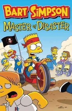From one calamity to the next, Bart Simpson Master of Disaster will take you over the brink of laughter again and again. Hope for the best and expect the worst, when Bart, Milhouse, and Martin pull th