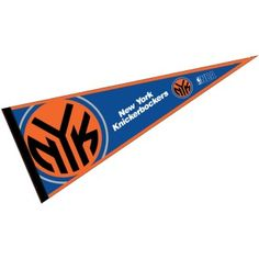This NY Knicks Pennant measures 12x30 inches, is constructed of felt, and is single sided screen printed with the NY Knicks logo and insignia. Each...