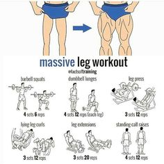 Massive leg workout! Related posts:Squat challenge workout !Best Bicep Workouts for Massdumbbell pressRead More →