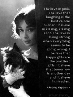 Audrey and her Yorkie :)