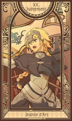Fate/Apocrypha - Tarot Card