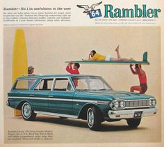 1964 Rambler Station Wagon Vintage Magazine by TheVintageResource, $7.50