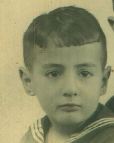 7 year old Henri Van Der Linden was sadly murdered in Auschwitz with his parents and 9 1/2 year old brother Alfred.