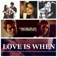 Love is when