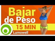 Ejercicios para Bajar de Peso para Mujeres - YouTube