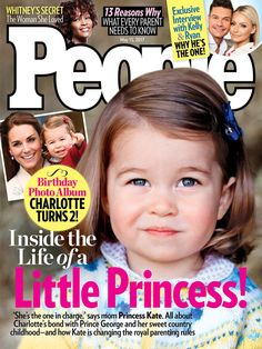 People Magazine (@people) on Twitter:  Princess Charlotte on the cover of People Magazine, May 15, 2017