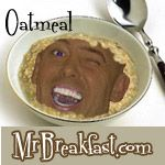Banana Orange Oatmeal Recipe - Mr Breakfast made it for breakfast and it was very easy and yummy!