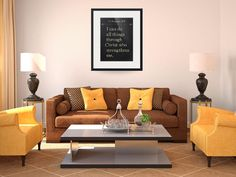"""Philippians 4:13- Bible Verse Wall Art Collection""  (2015) by MarkLawrence"