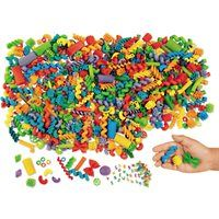 Great for loose parts play! 1 pound of colourful, nontoxic loose parts pieces in lots of shapes. Largest is Play 1, 1 Pound, Macaroni, Shapes, Jewellery, Wood, Macaroons, Jewels, Jewelry Shop