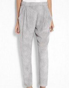 Silk printed trouser - Phillip Lim