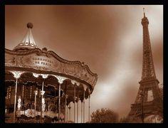 Carrousel & Eiffel Tower