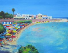 Santa Maria al Bagno: a painting for sale on the famous Saatchi Online
