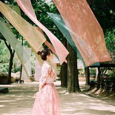 #생활한복 #희온한복 #한복 #한복스타그램 #민속촌 #화보 #한복화보 #허리치마 #korea #hanbok #girl #감성사진 @gan_vely