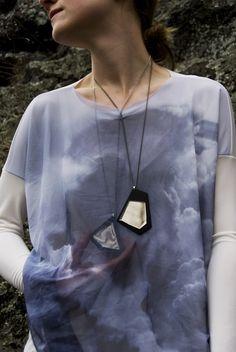 Alena Hájková Design Festival, Jewelry Design, Bronze, Pendant Necklace, Fashion Design, Drop Necklace