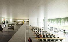 Gallery - Berrel Berrel Kräutler Wins Competition to Expand WHO's Geneva Headquarters - 4