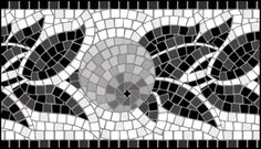 Mosaic stencils from The Stencil Library. Buy from our range of Mosaic stencils online. Page 1 of our Mosaic border stencil catalogue. Mosaic Crafts, Mosaic Projects, Mosaic Art, Mosaic Tiles, Art Projects, Mosaic Designs, Stencil Designs, Stained Glass Patterns, Mosaic Patterns